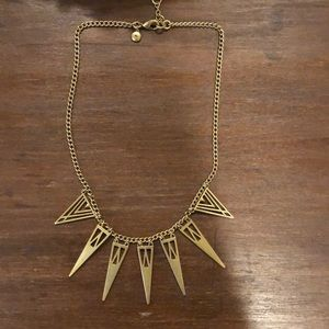 Gold J Crew Statement Necklace